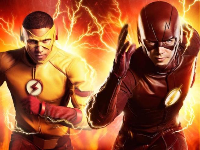 the flash season 3 season 4 barry allen grant gustin wally west kid flash keiynan lonsdale savitar the thinker legends of tomorrow flashpoint