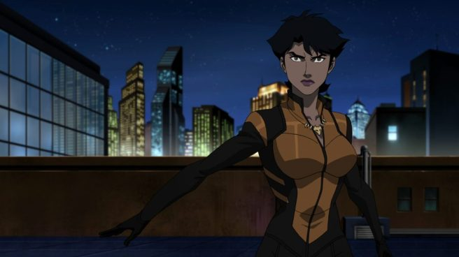 vixen cw seed series 2 megalyn echikunwoke arrow legends of tomorrow animated cartoon dc