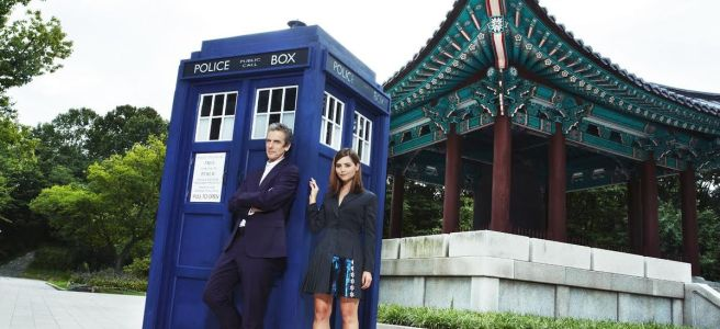 doctor who worldwide global world tour 2014 south korea seoul asia peter capaldi jenna coleman twelfth doctor clara oswald