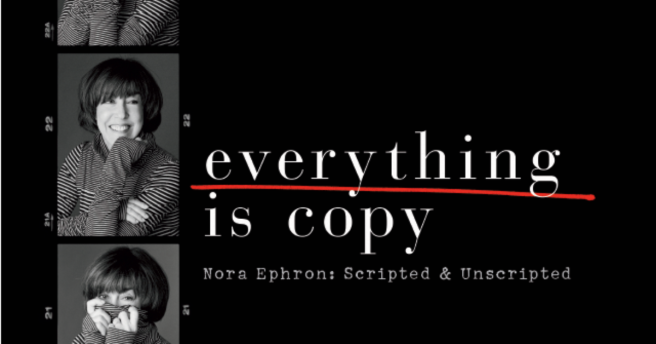 everything is copy nora ephron scripted and unscripted jacob bernstein documentary review hbo tom hanks meg ryan nora ephron
