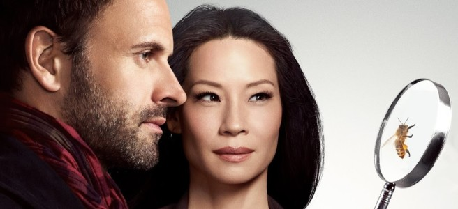 elementary sherlock jonny lee miller lucy liu bee magnifying glass hd