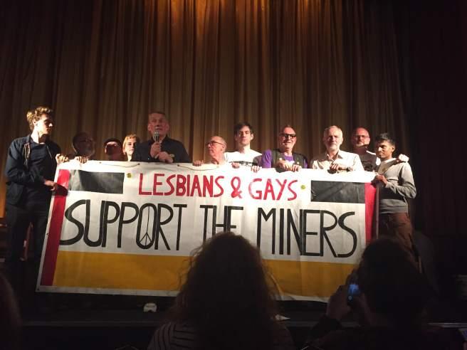 jeremy corbyn lgsm pride phoenix cinema owen smith fundraising event momentum george mckay