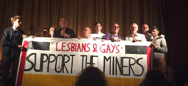 jeremy corbyn lgsm pride phoenix cinema owen smith fundraising event momentum george mckay