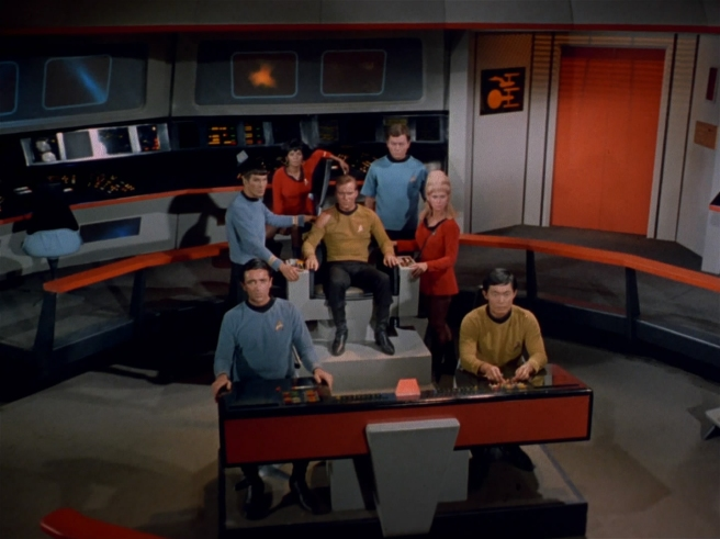 star trek the original series bridge crew the naked time hd review kirk spock sulu uhura chekov mccoy together john df black marc daniels