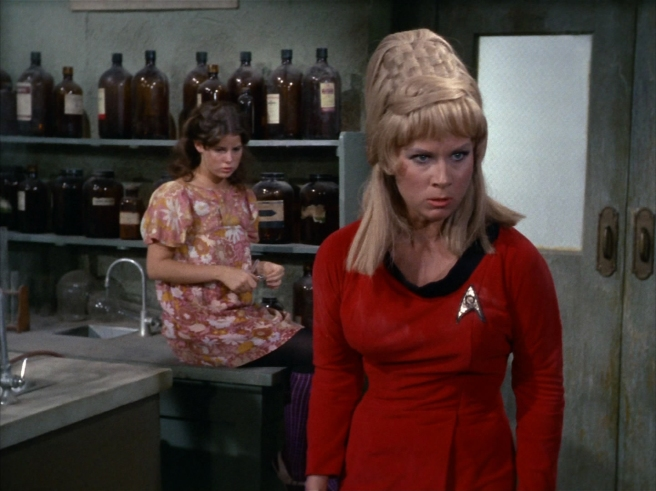 star trek the original series miri review janice rand captain kirk grace lee whitney william shatner adrian spies vincent mceveety