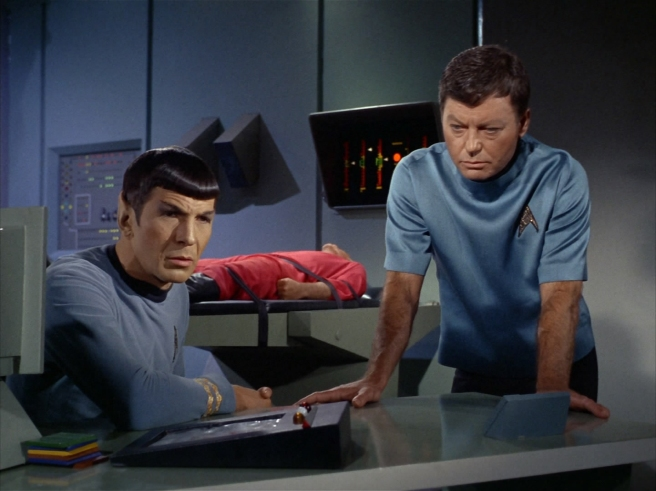 star trek dagger of the mind spock mccoy bones leonard nimoy deforest kelley tos review gene roddenberry the original series