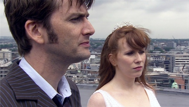 doctor who the runaway bride review david tennant catherine tate donna noble wedding russell t davies euros lyn ten years of the tenth doctor