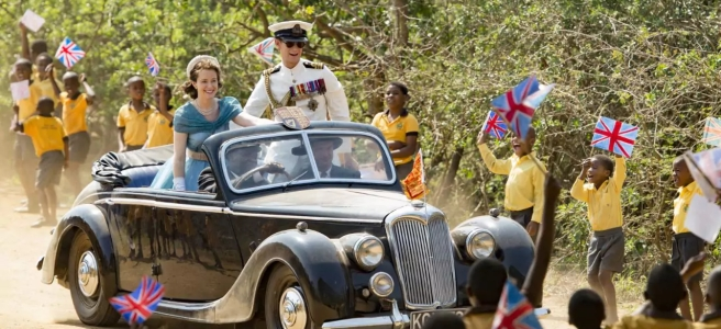 the crown africa hyde park corner stephen daldry matt smith claire foy peter morgan netflix