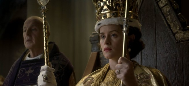 the crown smoke and mirrors philip martin claire foy coronation crown queen peter morgan review