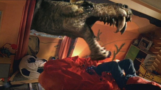 primeval gorgonopsid bedroom episode 1 review cilla ware dinosaur