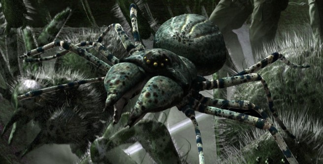 primeval spiders cilla ware tom ryan adrian hodges science fiction itv hd review
