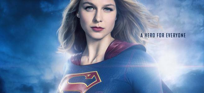 supergirl a hero for everyone hd poster wallpaper melissa benoist dc cw arrowverse kara danvers review supergirl refugees martians krypton