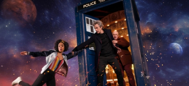 doctor who series 10 steven moffat pearl mackie bill potts nardole matt lucas twelfth doctor peter capaldi