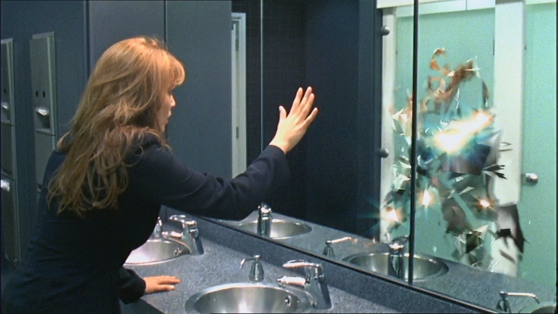 primeval claudia brown lucy brown anomaly reflection arc itv impossible pictures