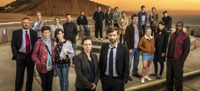 broadchurch season 3 david tennant olivia colman charlie higson chris chibnall trish attacked suspects