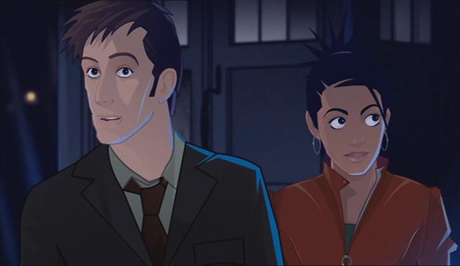 doctor who cartoon infinite quest animated tenth doctor martha jones screenshot hd review alan barnes gary russell cosgrove hall