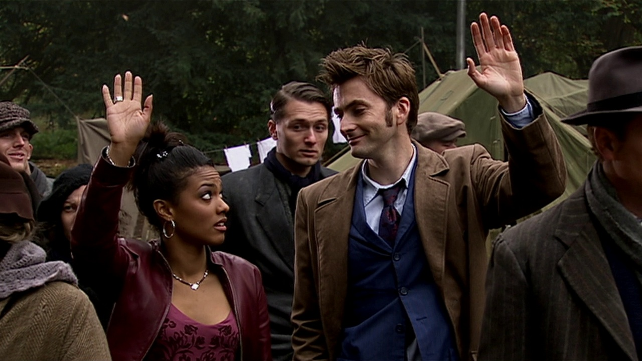 doctor who daleks in manhattan review david tennant tenth doctor martha jones freema agyeman hooverville volunteer empire state building