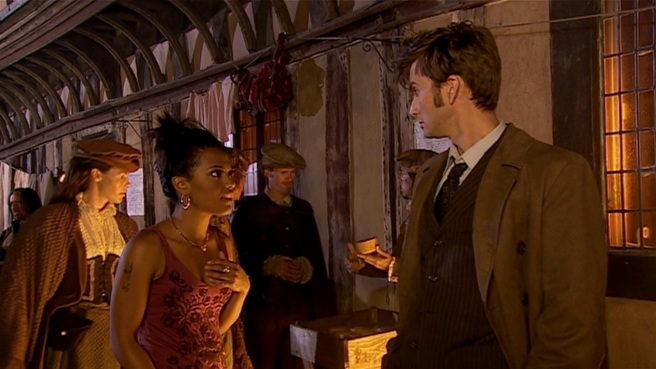 doctor who review shakespeare code martha jones racism race history freema agyeman tenth doctor walk around like you own the place thin ice