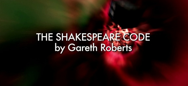 doctor who review the shakespeare code title sequence dean lennox kelly gareth roberts charles palmer globe carrionites