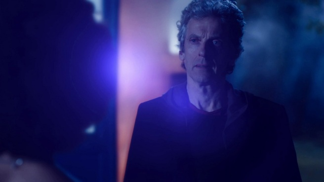 doctor who the pilot review peter capaldi twelfth doctor it means life tardis backlit steven moffat lawrence gough hd screenshot wallpaper