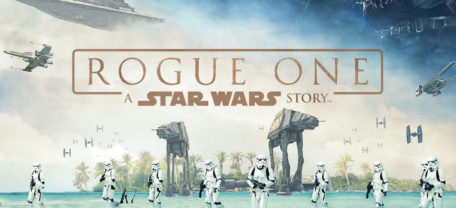 rogue one a star wars story blue beach sea poster stormtroopers at at disney anthology gareth edwards bad criticism anti tony gilroy kathleen kennedy felicity jones