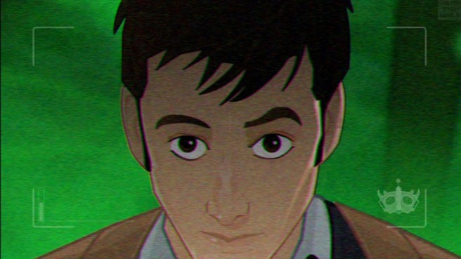 doctor who infinite quest review screenshot picture hd david tennant cartoon animated tenth doctor animation