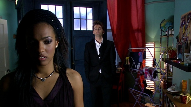 doctor who the lazarus experiment review martha jones freema agyeman unrequited love tenth doctor tardis richard clark stephen greenhorn