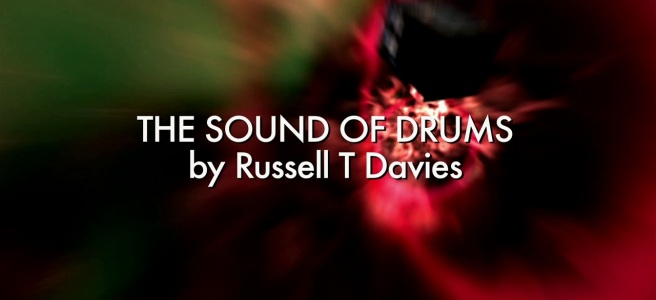 doctor who review the sound of drums russell t davies colin teague tenth doctor title sequence card vortex