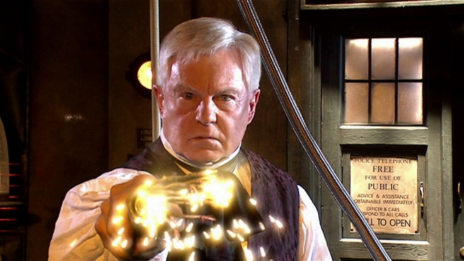 doctor who utopia review the master professor yana derek jacobi kills chantho electric wire tardis graeme harper russell t davies