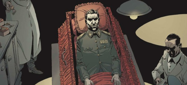 the death of stalin comic graphic novel titan comics Fabien Nury Thierry Robin
