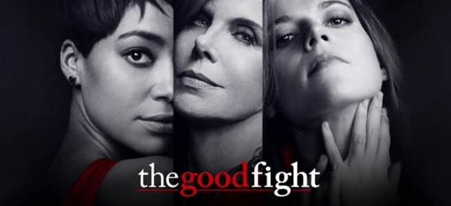 the good fight christine baranski cush jumbo rose leslie black and white poster hd wallpaper trump review channel 4 cbs