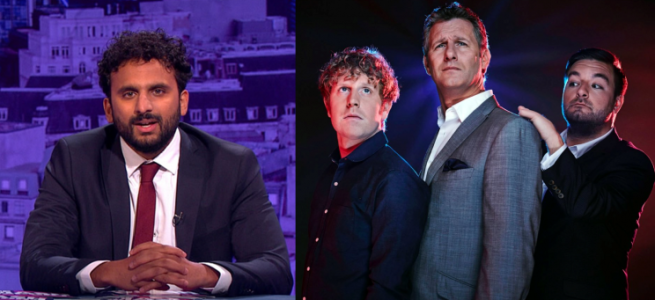 the mash report nish kumar the last leg adam hills josh widdicombe alex brooker channel 4 bbc two the nightly show itv