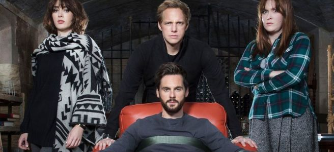 ill behaviour sam bain chris geere lizzy kaplan tom riley jessica regan cancer comedy bbc two showtime tv show steve bendelack