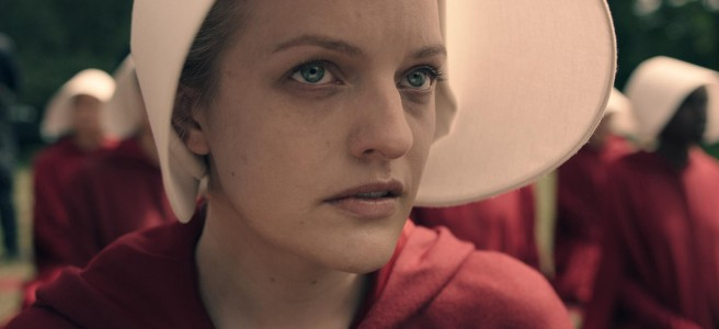 the handmaid's tale bonnet close up reed morano bruce miller elisabeth moss hulu channel 4 hd review floria sigismondi