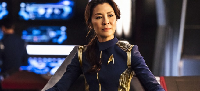 star trek discovery Captain Phillipa Georgiou michelle yeoh the vulcan hello battle at the binary stars review the original series diversity representation hd wallpaper shenzhou bryan fuller woc