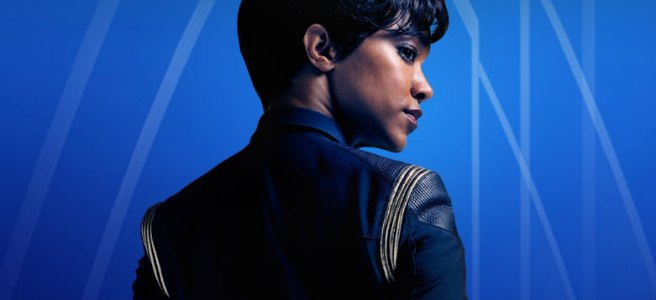 star trek discovery michael burnham sonequa martin green science wallpaper blue starfleet hd