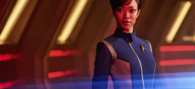 star trek discovery the vulcan hello easter eggs references canon tos redshirts michael burnham sonequa martin green bryan fuller akiva goldsman david semel cbs all access netflix