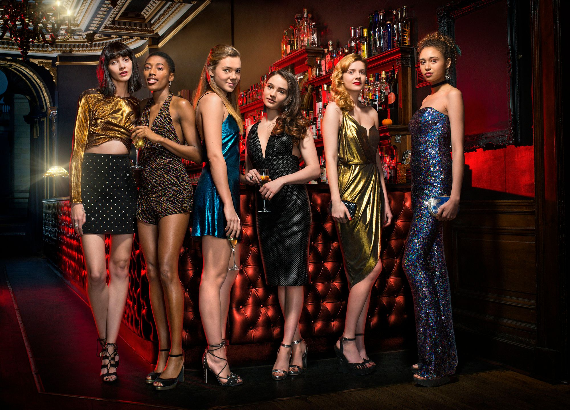 Clique BBC Three bryan elsley jess brittain louise brealey synnove karlsen aisling francoisi