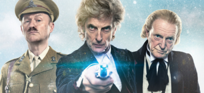 doctor who christmas twice upon a time peter capaldi mark gatiss david bradley william hartnell steven moffat pearl mackie jodie whittaker