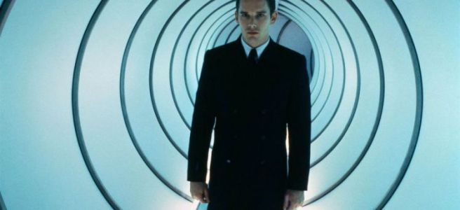 gattaca ethan hawke 20th anniversay uma thurman jude law andrew niccol michael nyman review science fiction genetics