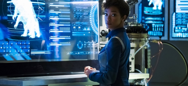 star trek discovery the butcher's knife cares not for the lamb's cry michael burnham sonequa martin green tardigrade mycelial network review recap analysis Olatunde Osunsanmi Jesse Alexander Aron Eli Coleite