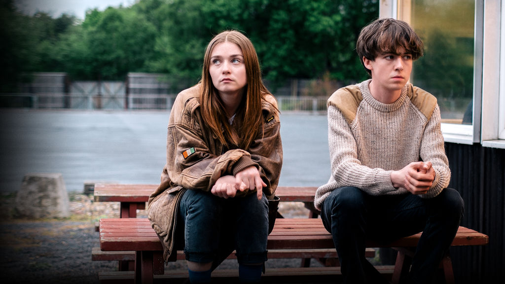 the end of the fucking world alex lawther jessica barden charlie covell jonathan entwhistle lucy tcherniak review netflix channel 4