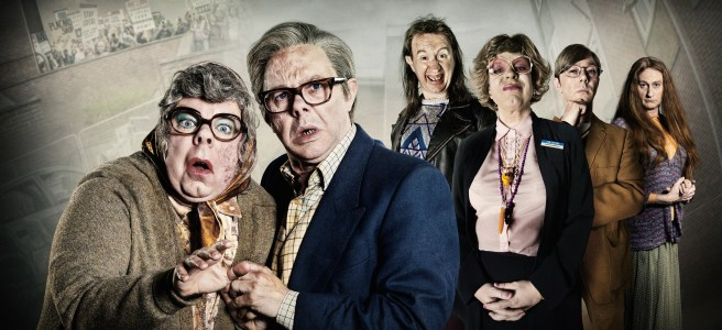 the league of gentlemen 2017 royston vasey mark gatiss steve pemberton reece shearsmith jeremy dyson blackface transphobia