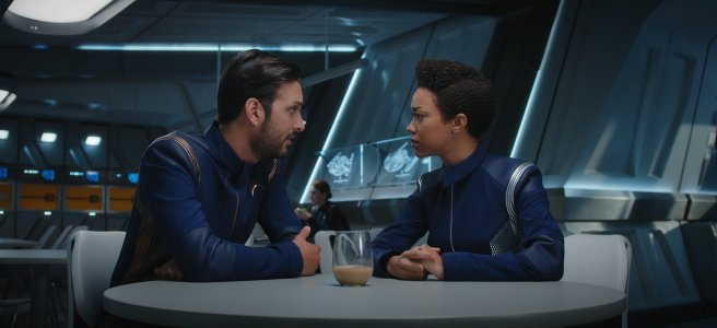 star trek discovery despite yourself michael burnham sonequa martin green ash tyler voq shazad latif review jonathan frakes sean cochrane