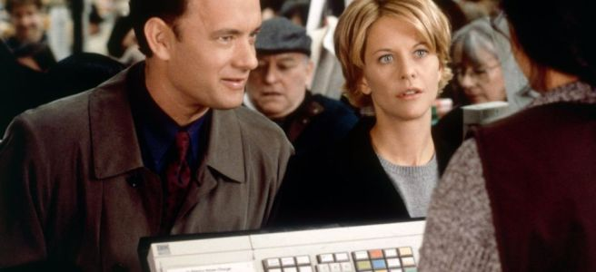 you've got mail tom hanks meg ryan nora ephron romcom valentine's day movie recommendation review film couples romance romantic