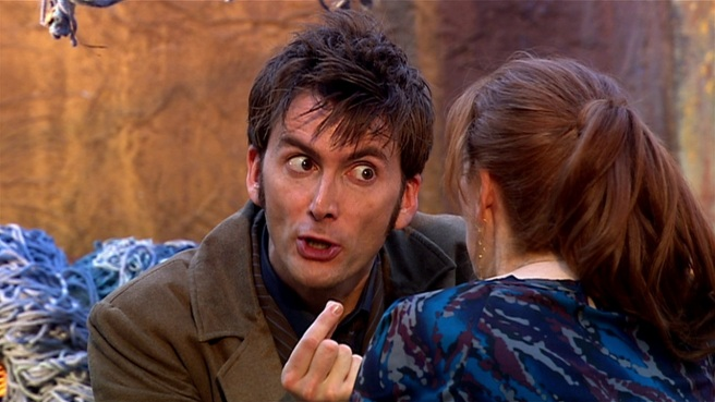 the fires of pompeii doctor who review david tennant tenth doctor catherine tate donna noble james moran colin teague