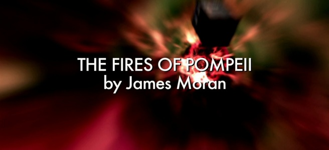 the fires of pompeii doctor who review james moran colin teague david tennant catherine tate russell t davies title sequence