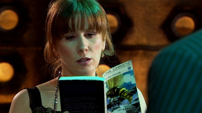 doctor who the unicorn and the wasp book donna noble catherine tate gareth roberts vespiform agatha christie billion billion years fenella woolgar graeme harper