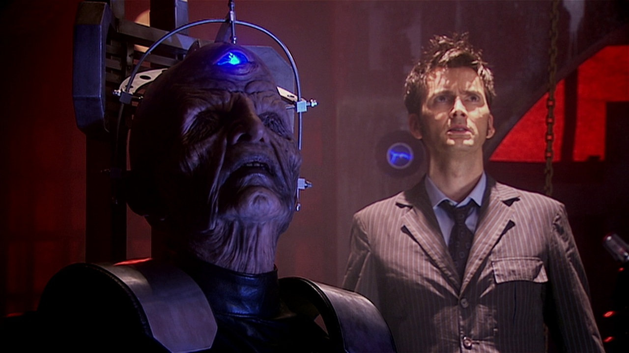doctor who journey's end review davros julian bleach dalek crucible dalek caan the abomination david tennant tenth doctor russell t davies series 4 graeme harper