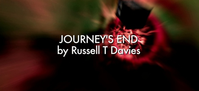 doctor who journey's end review tenth doctor david tennant donna noble catherine tate rose tyler billie piper russell t davies graeme harper daleks davros